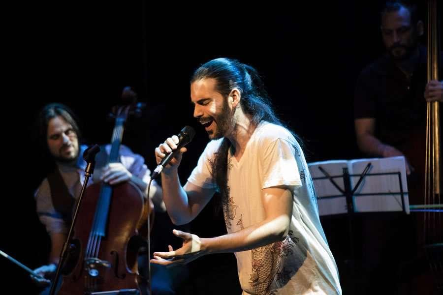 Presentació de Garoina a Luz de Gas - Festival Barnasants